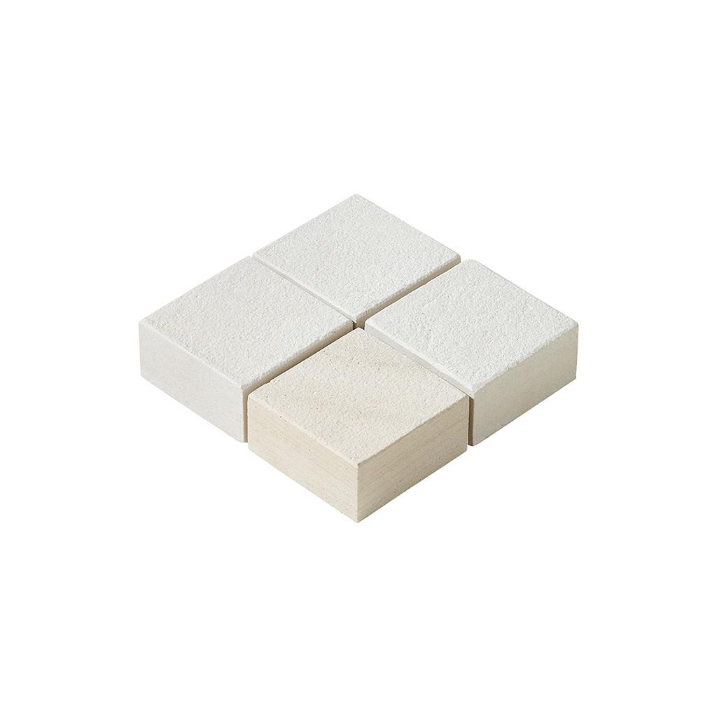 Buff Sandstone Setts 100x100mm Dry