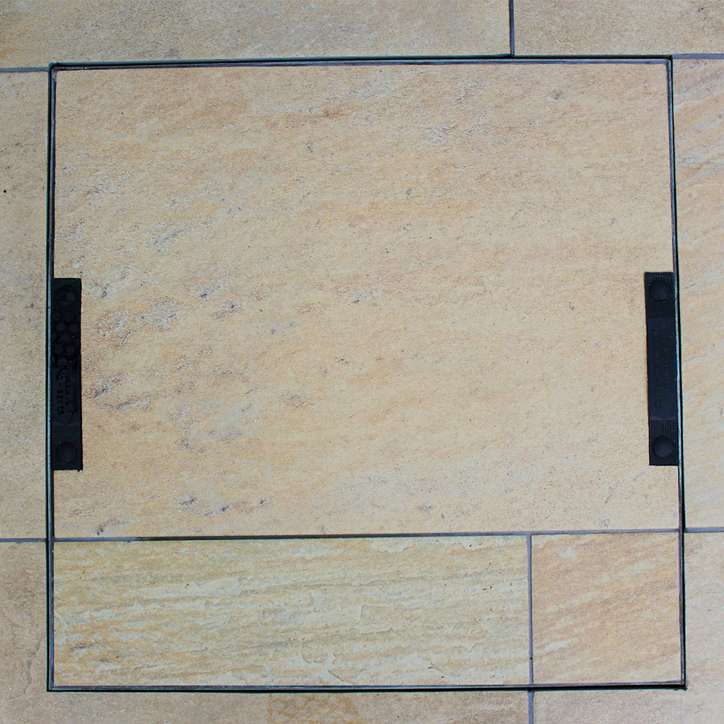 Emperor Rio Dorado Porcelain Paving In-situ