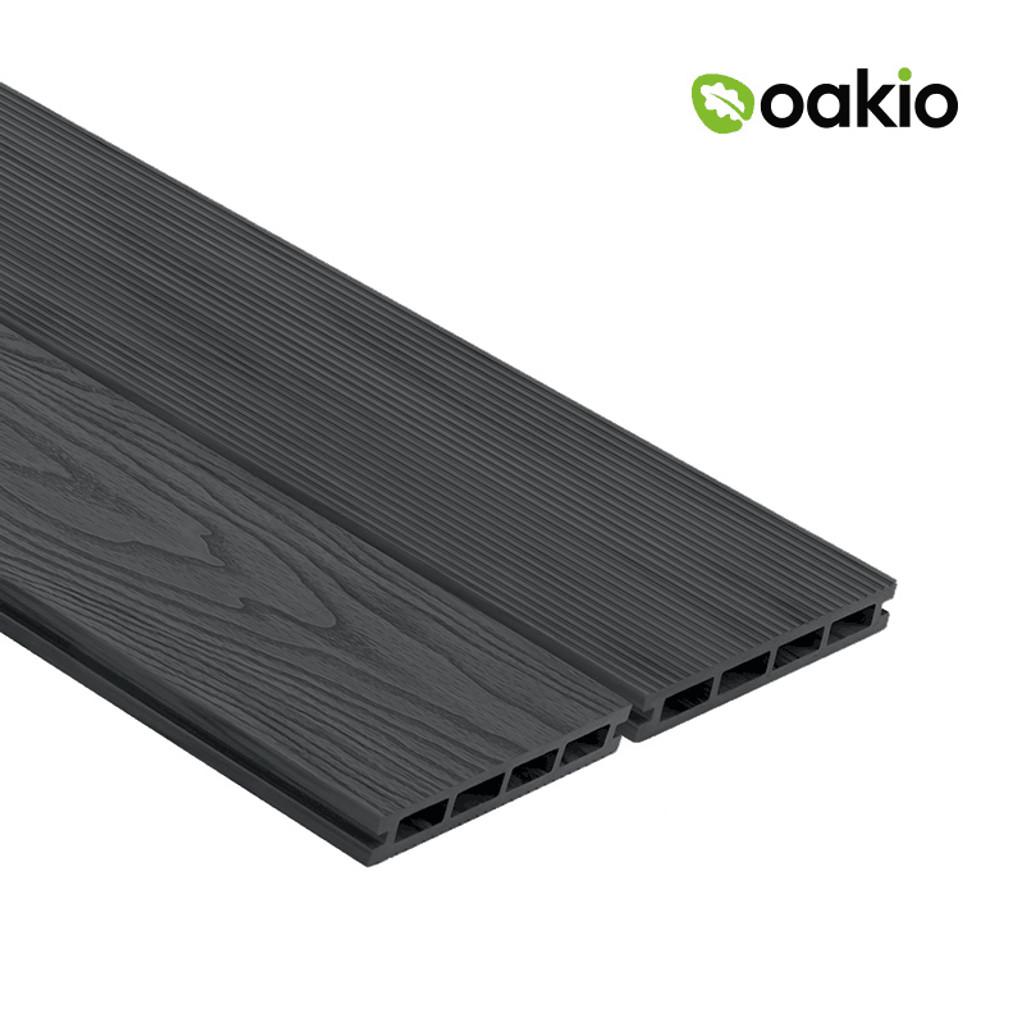 Oakio Composite Decking - Light Grey