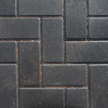 Lakeland Driveway Charcoal Block Paving Wet