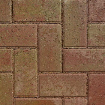 Lakeland Driveway Sunset Block Paving Wet