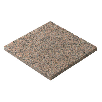 Pink Granite Paving Wet