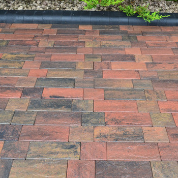 Burnt Sunset Windermere Block Paving Driveway