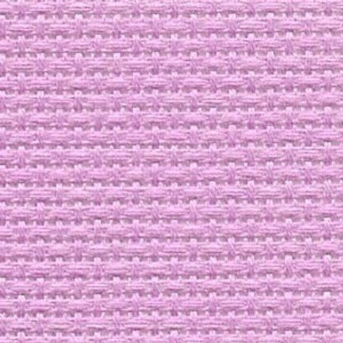 Azalea Pink Solid Color Cross Stitch Fabric