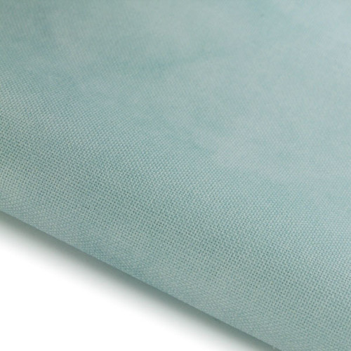 Pale Misty Blue - Hand Dyed Effect