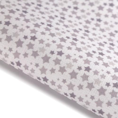 Blue Stars - Patterned Cross Stitch Fabric