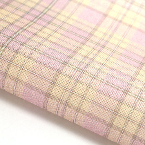 Candy Check - Patterned Cross Stitch Fabric