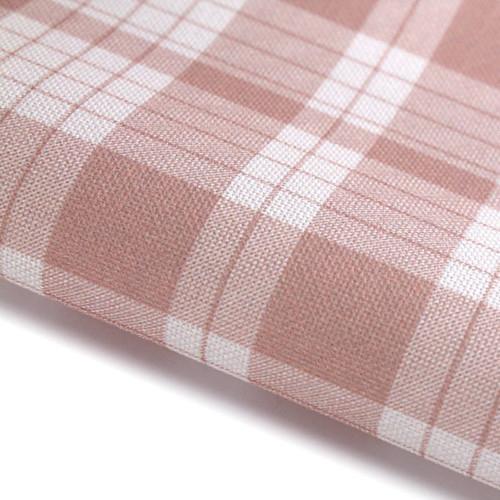 Pink Check - Patterned Cross Stitch Fabric