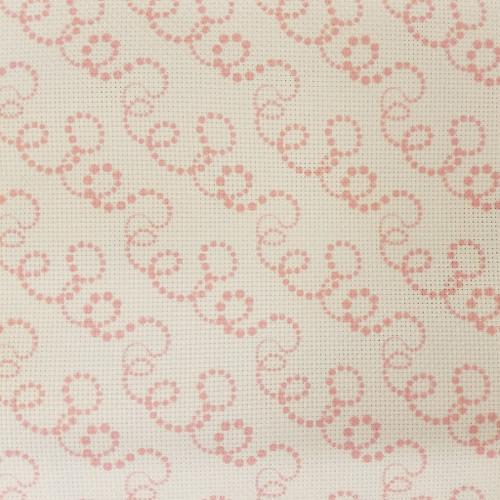 Christmas Swirls - Patterned Cross Stitch Fabric