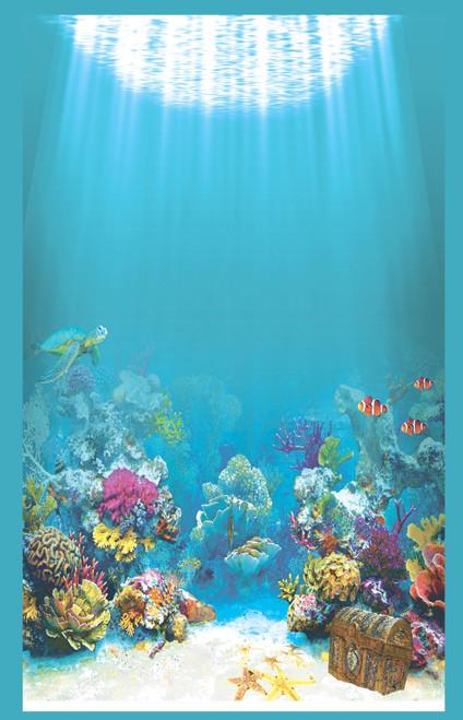 Under the Sea Background Cross Stitch Fabric