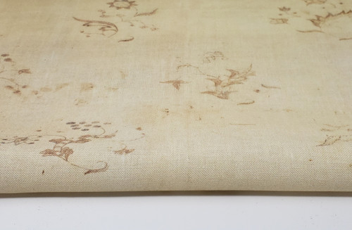Ivory Historic  - Patterned Cross Stitch Fabric