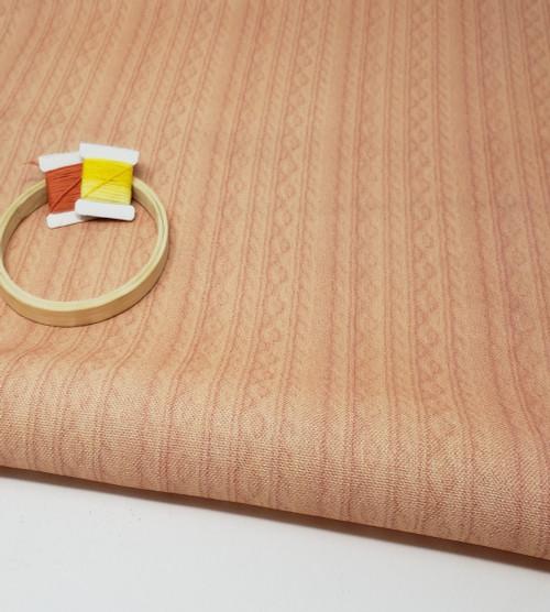Tangerine Knit Cross-stitch Fabric