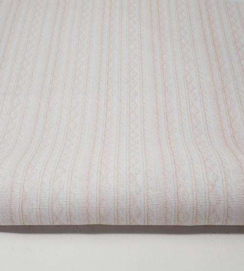 Barely Pink Knit Cross-stitch Fabric