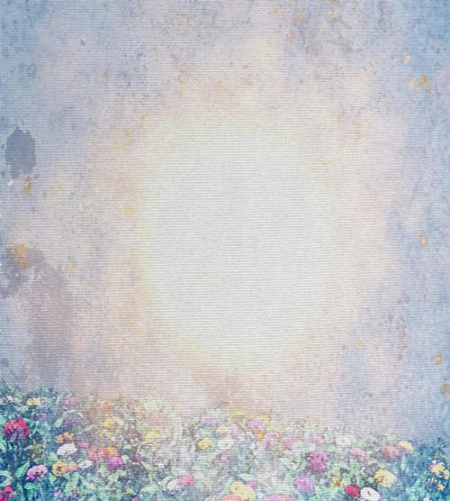 Spring Meadow Cross Stitch Fabric