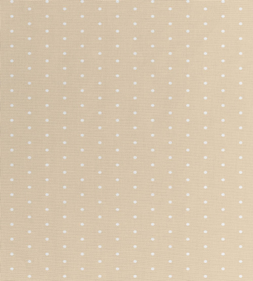 French Neutral Polka Dots - Patterned Cross Stitch Fabric