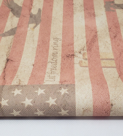 Let Freedom Ring - Patterned Cross Stitch Fabric