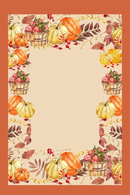 Harvest Frame Cross Stitch Fabric