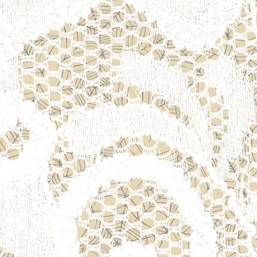 Creamy Lace Over Cobwebs Cross Stitch Fabric