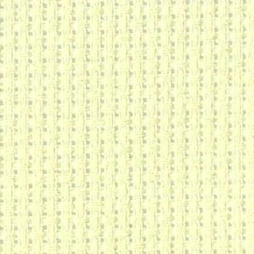 Barely Lime Solid Color Aida Fabric