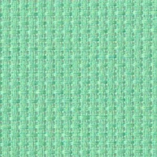 Caribbean Sea Solid Color Cross Stitch Fabric