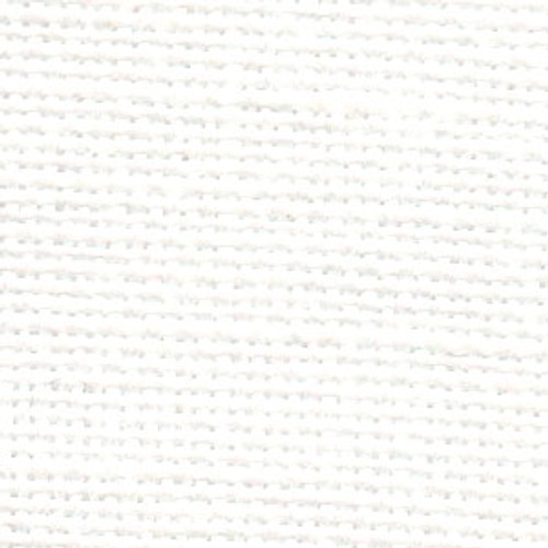 White Solid Color Cross Stitch Fabric
