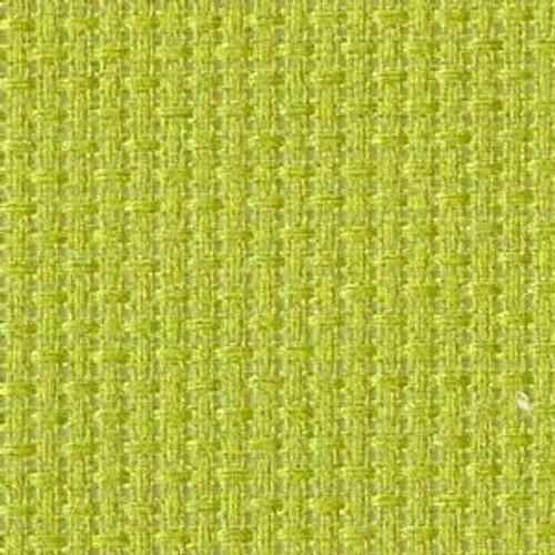 Pea Soup Solid Color Cross Stitch Fabric