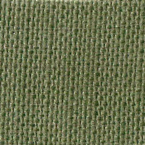 Seaweed Green Solid Color Cross Stitch Fabric