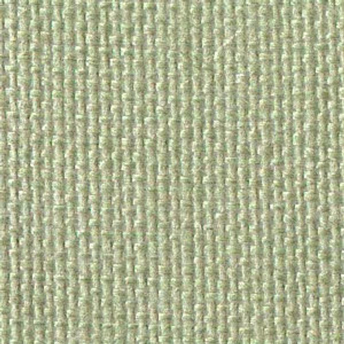 Gray Green Solid Color Cross Stitch Fabric