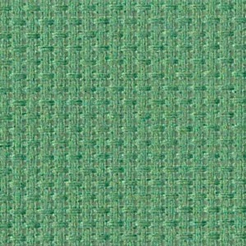 Blue Lagoon Solid Color Cross Stitch Fabric