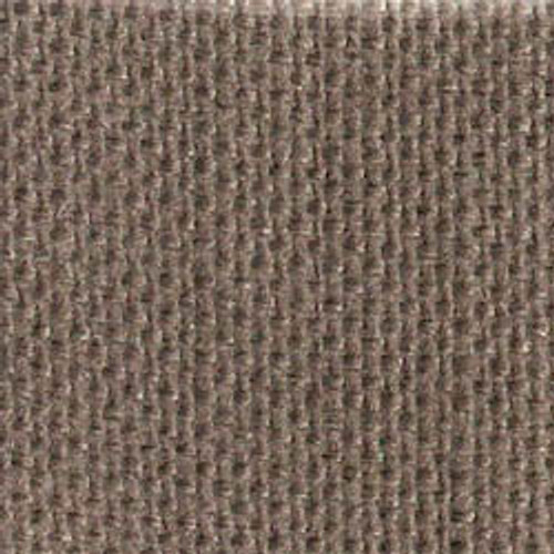 Soft Black Solid Color Cross Stitch Fabric