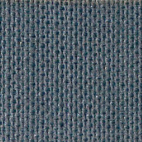 Foggy Blue Solid Color Cross Stitch Fabric