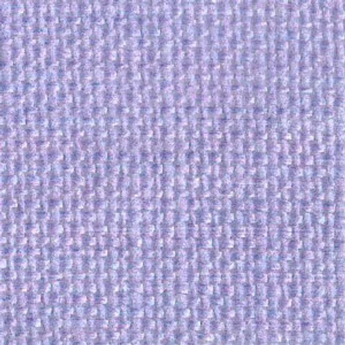 Blue Hyacinth Solid Color Cross Stitch Fabric