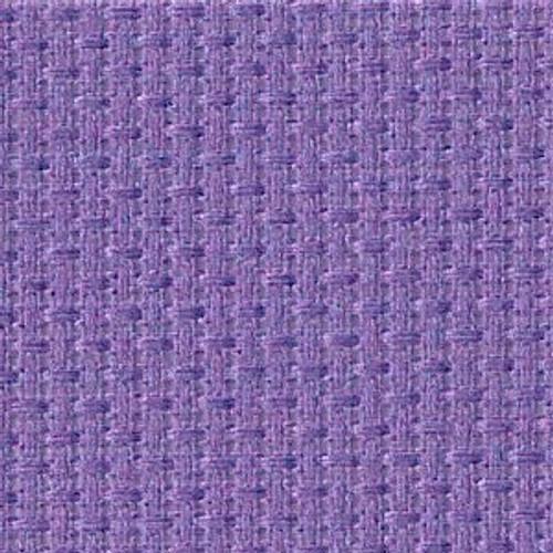 Pale Iris Solid Color Cross Stitch Fabric