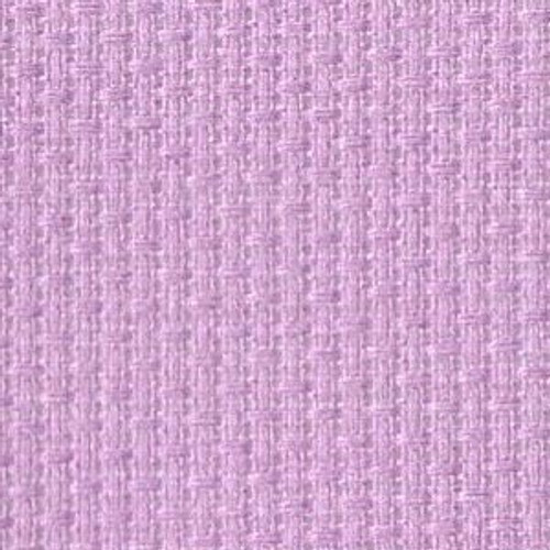 Pale Violet Solid Color Cross Stitch Fabric