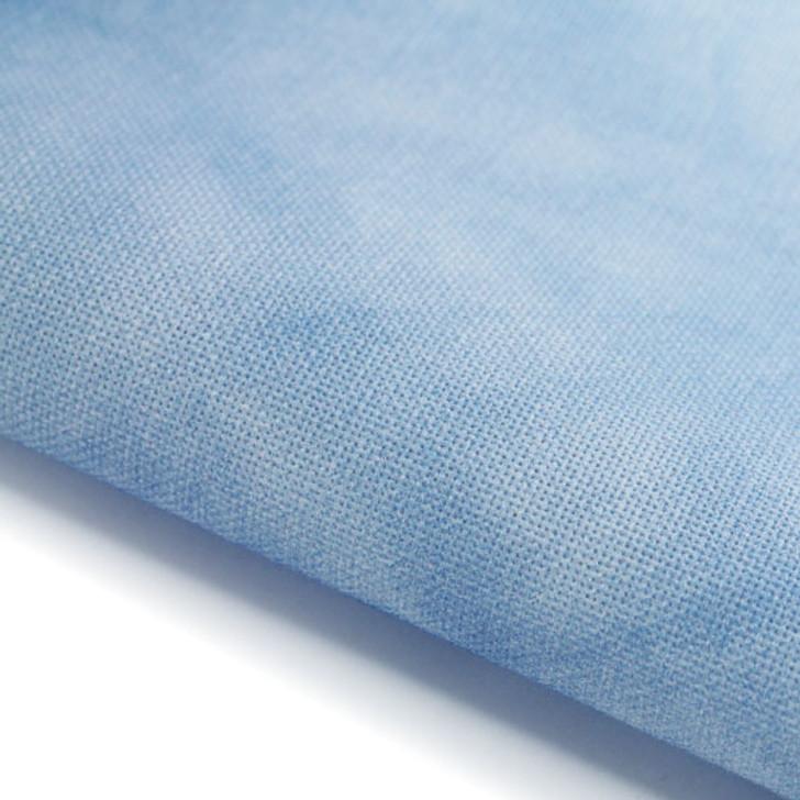 Sky Blue - Hand Dyed Effect Cross Stitch Fabric