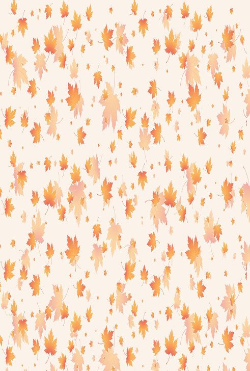Leaves Falling Cross Stitch Fabric