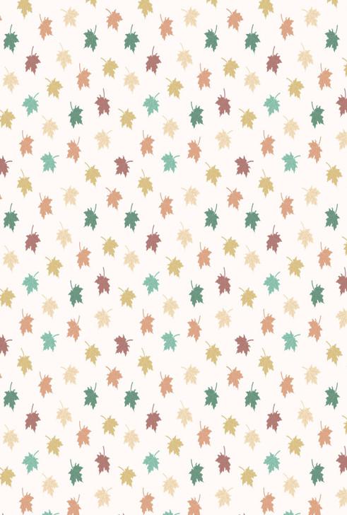Light Maple Leaves Cross Stitch Fabric
