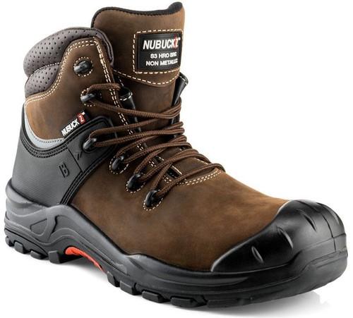Buckler NuBuckz Brown Safety Boot