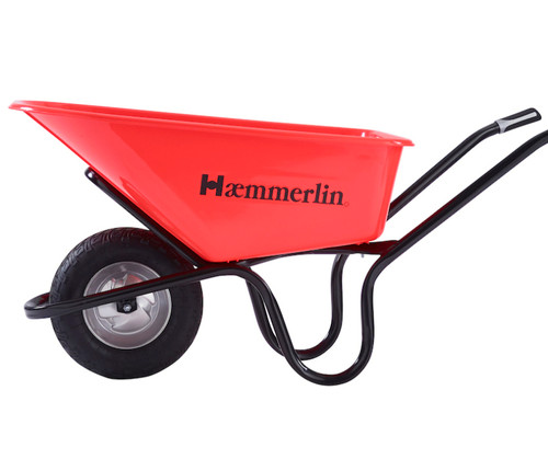 Haemmerlin Heavy Duty Crusader Wheelbarrow