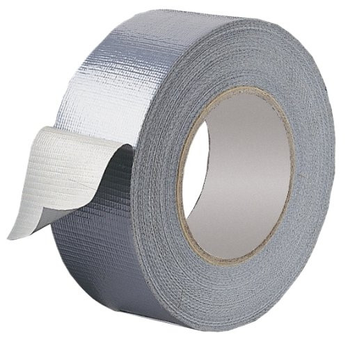 50MTR X 50MM SILVER DUCT TAPE