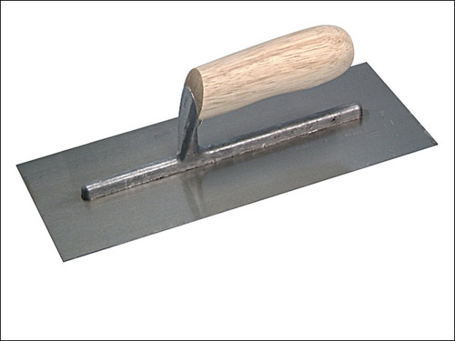 "11"" WOODEN HANDLE FINISHING TROWEL/FLOAT"