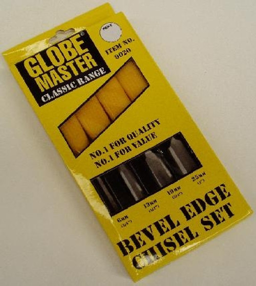 4PC WOOD CHISEL SET