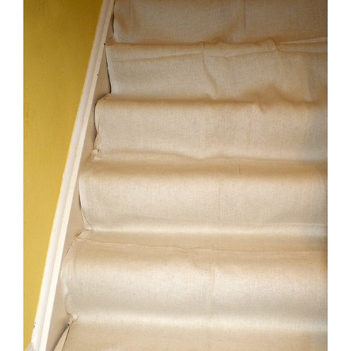 24' X 3' STAIRCASE COTTON DUST SHEET