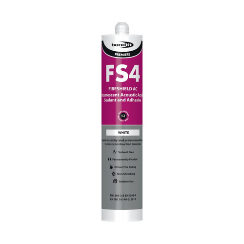 WHITE INTUMESCENT FIRE RATED SILICONE SEALANT