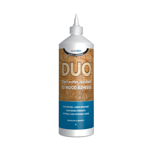 1LTR D3 DUO 2 in 1 WOOD ADHESIVE