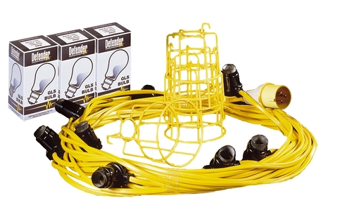 22M x 110V FESTOON LIGHTING KIT