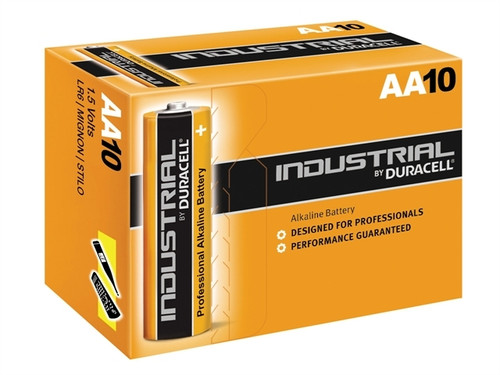 DURACELL INDUSTRIAL AA BATTERIES (PK.10)