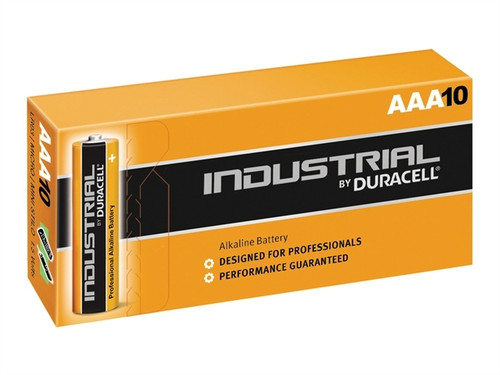 DURACELL INDUSTRIAL AAA BATTERIES (PK.10)