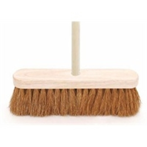 """10"""" SOFT COCO BRUSH WITH HANDLE"""
