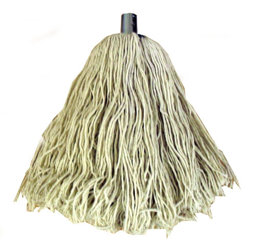 NO. 10 COTTON MOP HEAD WITH METAL SOCKET